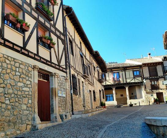Calle típica de la localidad.